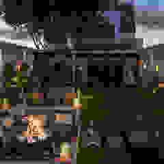 Tropische hotels van Ali Kafadar İç Mimarlık Tropisch Hout Hout