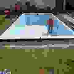 Preparandola para llenar Pool Solei
