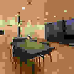 霧島の住宅 モダンデザインの ダイニング の アトリエ環 建築設計事務所 モダン