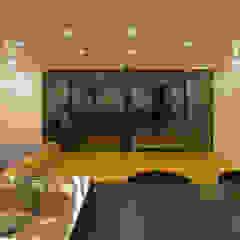 霧島の住宅 モダンデザインの リビング の アトリエ環 建築設計事務所 モダン