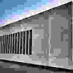 Estádios minimalistas por RÖ   ARQUITECTOS Minimalista Betão