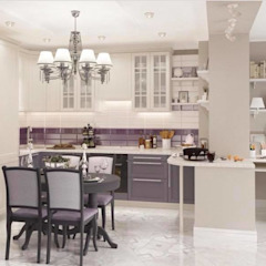 Bespoke kitchen inspiration for luxury homes by Luxury Chandelier Classic کاپر / کانسی / پیتل