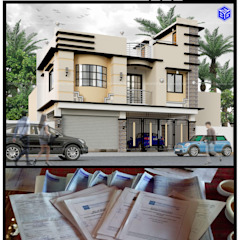 de BFG Architectural Services Asiático Concreto