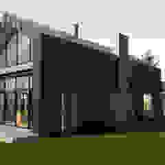 Oleh Budownictwo i Architektura Marcin Sieradzki - BIAMS Skandinavia Kayu Wood effect
