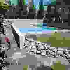 van PISCINE TECNOIMP Tropisch Gewapend beton