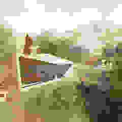 de Arquitecto Manuel Navarro Minimalista Hormigón