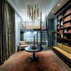 Banyan Workspace Tropical style offices & stores by S.Lo Studio Tropical