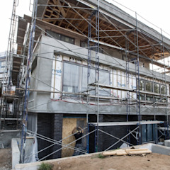 Zambezi Estate-New Build by Wentworth Construction Modern Concrete