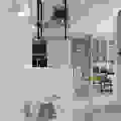 Aziatische gangen, hallen & trappenhuizen van 禾光室內裝修設計 ─ Her Guang Design Aziatisch