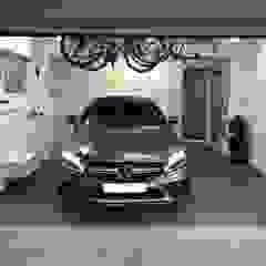 A dream garage in Sevenoaks, Kent by Garageflex Minimalist