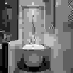 肯星室內設計 Minimalist style bathroom