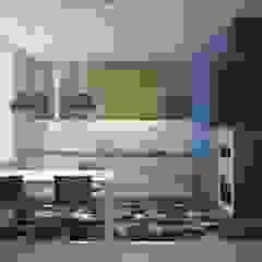 Cocinas de estilo industrial de Interior designers Pavel and Svetlana Alekseeva Industrial