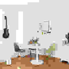 KANOS Design Scandinavian style dining room Wood White