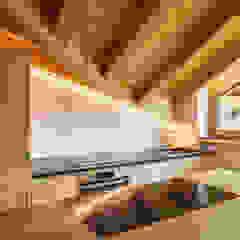 Monico Impianti Cocinas integrales Madera Acabado en madera