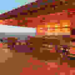 Mediterranean style wine cellar by Elaine Hormann Architecture Mediterranean Bricks