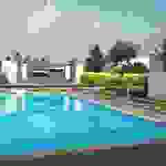 by Growscape Landscape Architect Asian Concrete