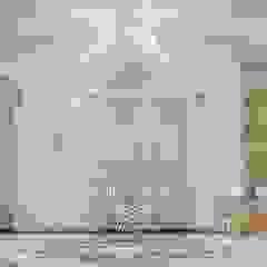Дизайн-проект интерьера загородного дома под Нижним Новгородом Коридор, прихожая и лестница в классическом стиле от Дизайн-студия элитных интерьеров Анжелики Прудниковой Классический