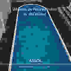 by ASSOL- Albercas y servicios del sol Minimalist
