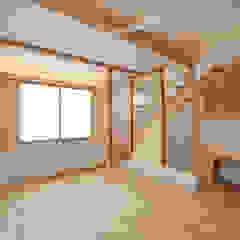 de 光風舎1級建築士事務所 Asiático Madera Acabado en madera