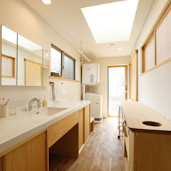 من 光風舎1級建築士事務所 إسكندينافي خشب Wood effect