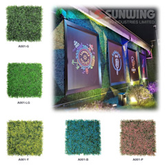 Artificial Greenery Wall For Indoor & Outdoor Landscape by Sunwing Industries Ltd Tropical پلاسٹک