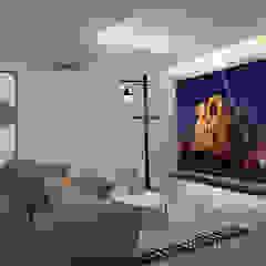 Landed property level 2 Modern living room by Swish Design Works Modern