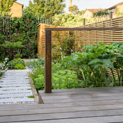 Sanctuary Garden Design in London توسط Earth Designs مدرن
