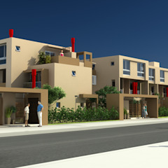por Arq. Marqués & Asoc. (EA - Estudio de Arquitectura) Minimalista