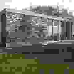 de Boutique de Arquitectura ¨Querétaro [Sonotectura+Refaccionaria] Minimalista Concreto reforzado