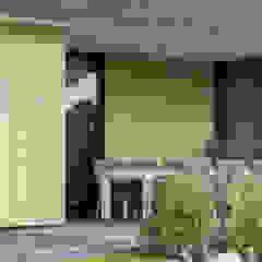 Villa PH Moderne balkons, veranda's en terrassen van Ivo de Jong architect Modern Tegels