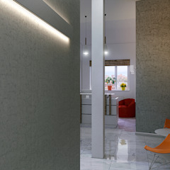 by Architoria 3D Minimalist کنکریٹ