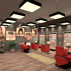 Lighting Design for a Solan & Spa من LUX DESIGNS حداثي الخرسانة