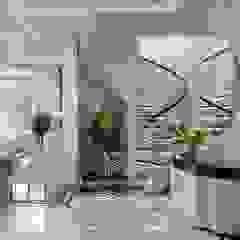 Дизайн-проект Интерьера Квартиры на Ленинском проспекте в стиле ар-деко Коридор, прихожая и лестница в классическом стиле от Дизайн-студия элитных интерьеров Анжелики Прудниковой Классический