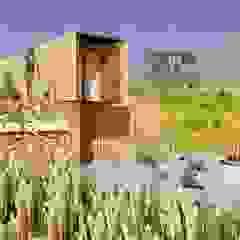 Hiên, sân thượng phong cách công nghiệp bởi Hamaca Arquitectura SpA Công nghiệp