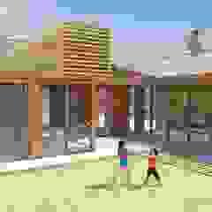 Jardins industriais por Hamaca Arquitectura SpA Industrial