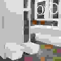 NAVI CORTEN A - Salon HOFF Industrialna łazienka od Salon HOFF Industrialny