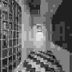 الآسيوي، الممر، رواق، &، درج من 漢玥室內設計 أسيوي رخام