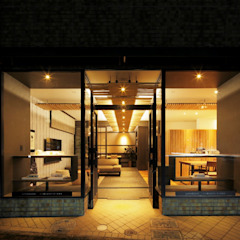 by キューボデザイン建築計画設計事務所 Modern