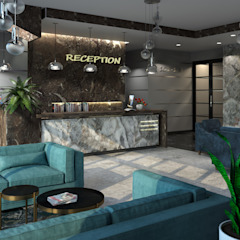 Minimalist hotels by SL. STUDIO. DESIGN Minimalist Stone