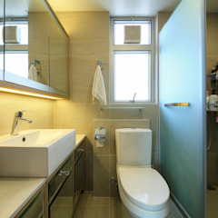 海桃灣 Modern bathroom by Inspire Design Ltd Modern Ceramic