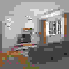 Living area by Swish Design Works Minimalist Plywood