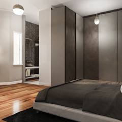 Tarabya Family House Eklektik Yatak Odası Diagon Designworks Eklektik