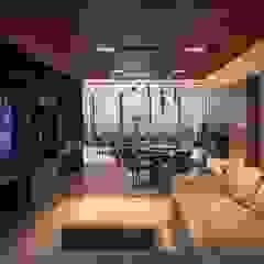Concepto Taller de Arquitectura Modern Media Room by Concepto Taller de Arquitectura Modern