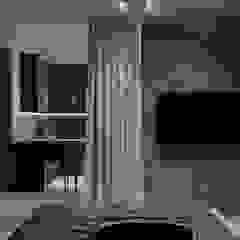 Industrial style bedroom by АРТ УГОЛ Студия архитектуры и дизайна Industrial