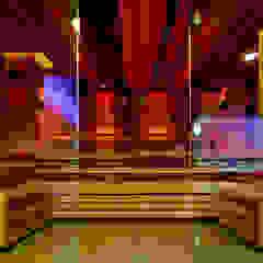 Frameless Glass in Wet Rooms Minimalistyczne spa od Ion Glass Minimalistyczny Szkło