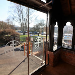 Glass in Porches by Ion Glass Minimalist Glass