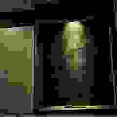 Salas multimedia asiáticas de あかがわ建築設計室 Asiático