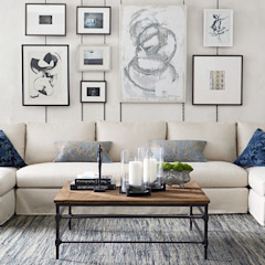 Diseño de Sala Salas modernas de Tullpu Diseño & Arquitectura Moderno
