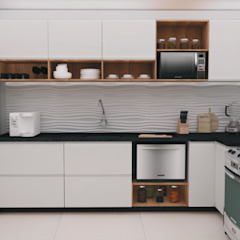 Cozinha 305 por Eme arquitetura Moderno MDF