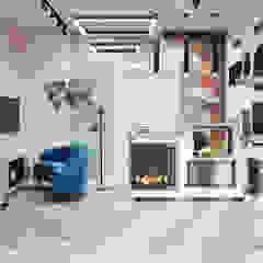 Салон Биокаминов Офисы и магазины в скандинавском стиле от DesignNika Скандинавский